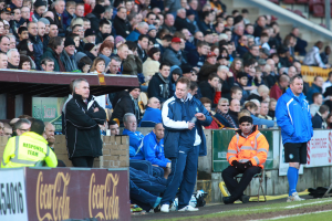 On the Bench at Bradford City
