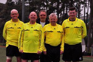 Our beloved match officials