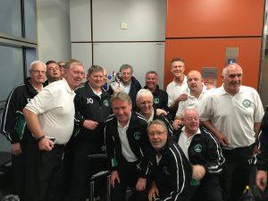 Meeting Roy Hodgson at the Airport
