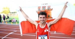 Harvey Dixon, Gibraltar and former AFD Athlete