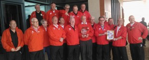 Winners of the Worlds first ever International Walking Football Tournament