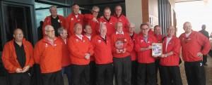 Winners of the Worlds first ever International Walking Football Tournament